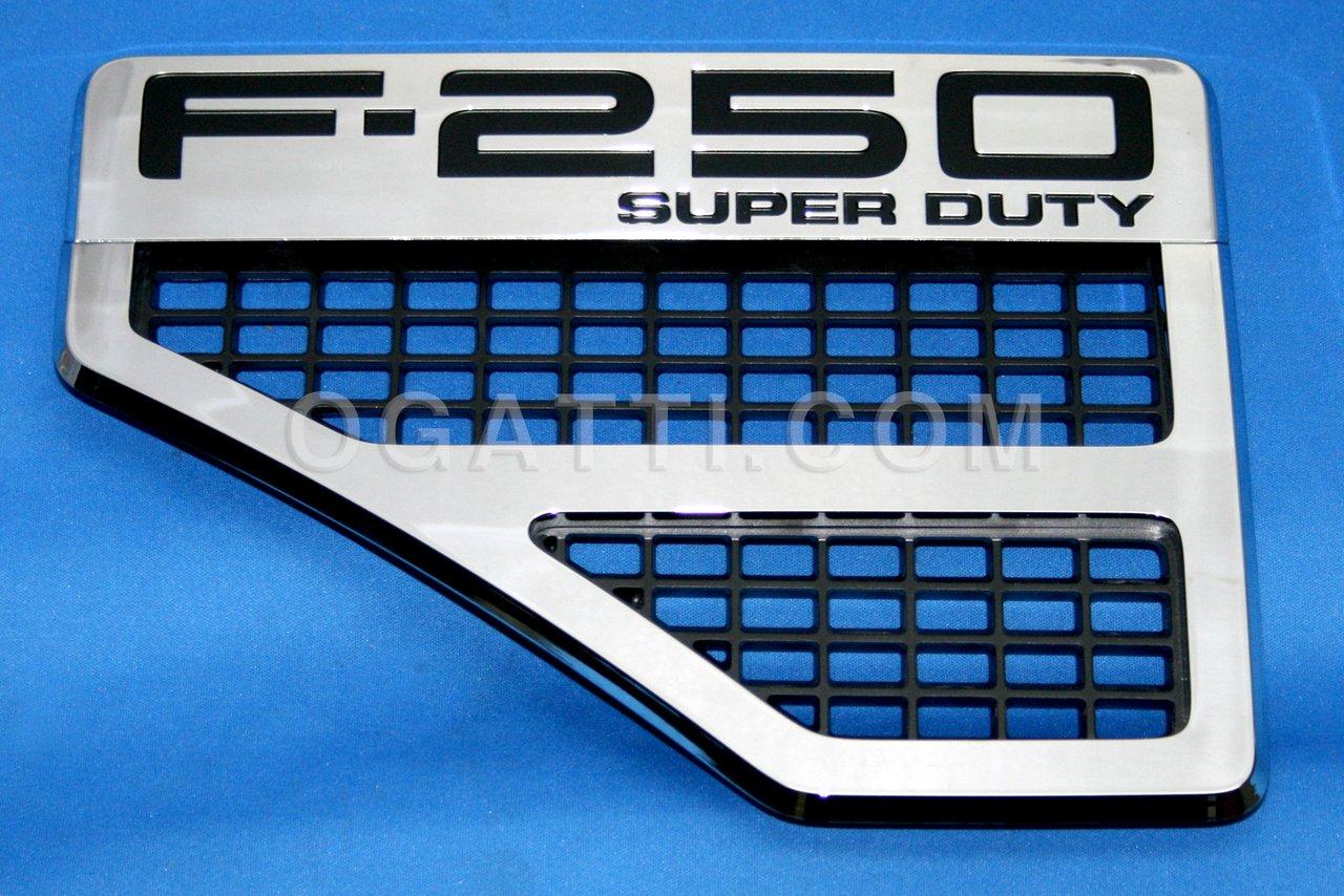 Brand New Ford OEM F-250 SUPER DUTY 2008-2010 Left Fender Vent Set 8C3Z-16228-F