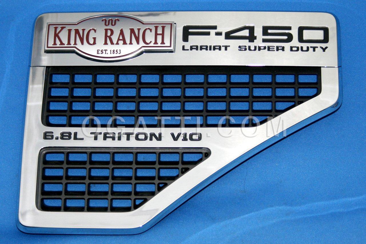 Brand New Ford OEM F-450 King Ranch 6.8L Triton V10 2008-2010 Right Vent Set 8C3Z-16228-C