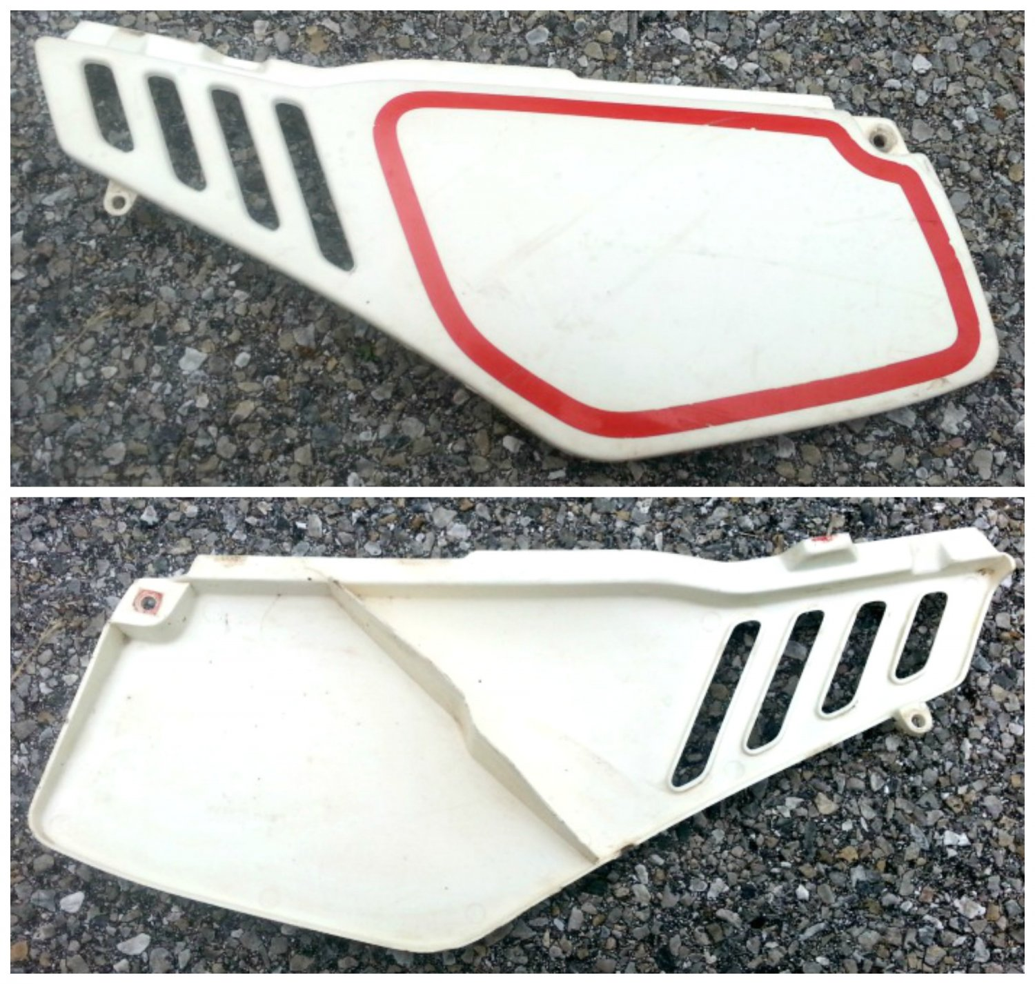 1987 Yamaha TT225 Left Side Plastic