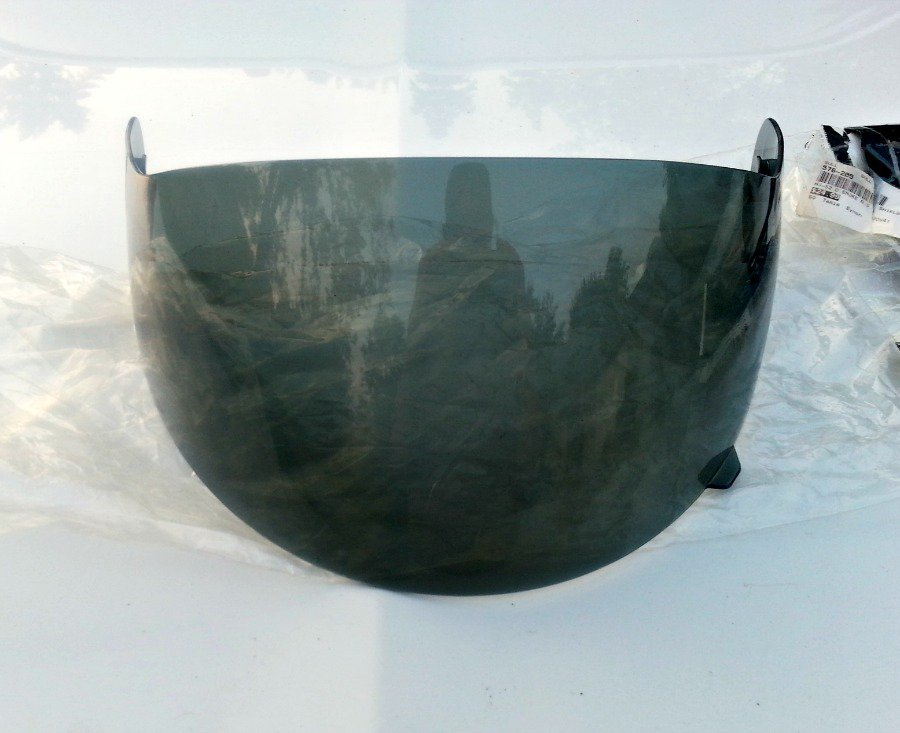 HJC SyMax 2 Replacement Visor - Dark Smoke
