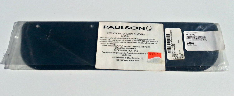 Paulson Replacement Shield for Vista Visors - Smoke