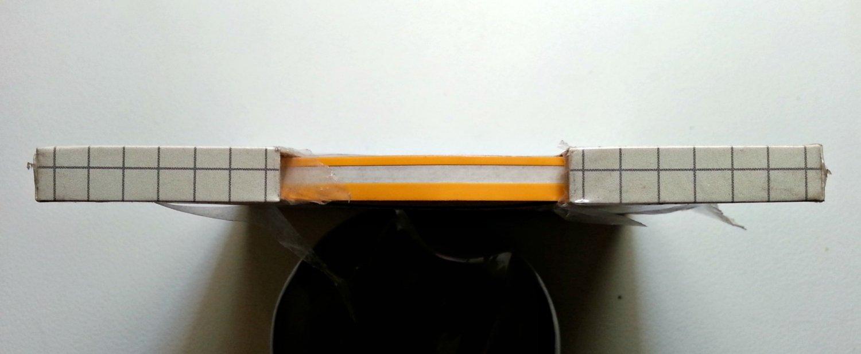 """Cal-Stripes Apricot two-stripe pinstriping 10/32"""" x 150'"""
