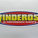 "Winderosa gaskets sticker - 4 1/2"" x 1 1/4"""