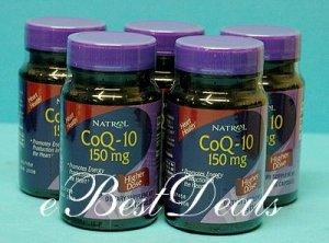 Natrol Coenzyme Q-10  CoQ-10 150 mg