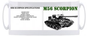 M56 Scorpion Mug