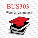 BUS303 Week 2 Assignment Health Care Administration