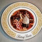 Betsy Ross Collector Plate- by Avon - 4th of July - American Flag - 1776
