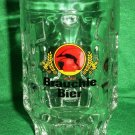 Vintage Bräuchle Beer Glass Stein Mugs - Red Label -