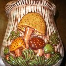 Vintage Ceramic Mushroom Cookie Jar