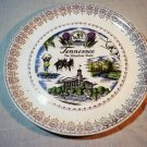 Vintage Tennessee Collector Souvenir Plate