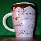 Beautiful Quality Made Pink  Hot Chocolate/ Coffee / Mocha Mug by Trisa
