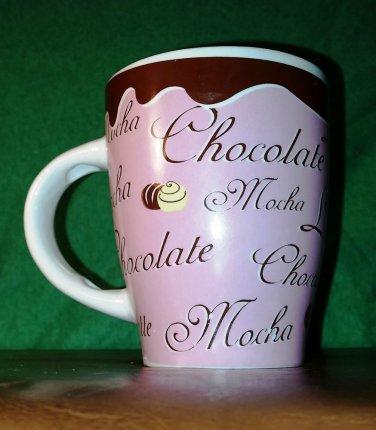 Beautiful Quality Made Pink  Hot Chocolate/ Coffee / Mocha Mug by Trisa