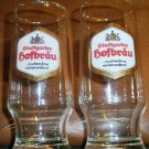 2 Vintage Guttgarter Hofbräu German Glasses