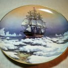 The Great Clipper Ships Collectors Plate by Leonard Pearce – Red Jacket