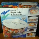 Multi Purpose 11 Piece Salad & Server Set -NIB