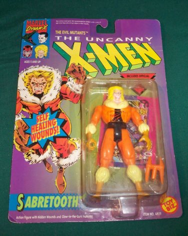 Marvel Comics X-Men Toy Biz - Sabertooth 1993 Figure NIB