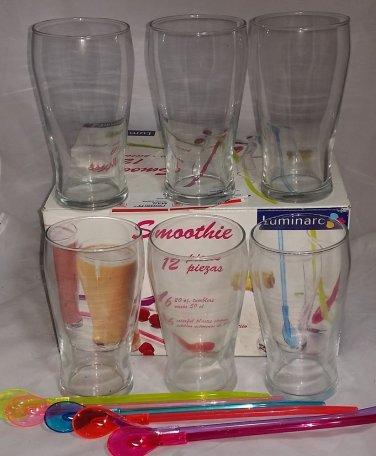 20 FL OZ Luminarc Smoothie Glass Set of 6