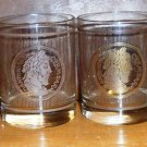 Set of 4 Ancient Coin Design 14oz Glasses