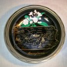 Vintage Collectible State Metal Bowl: Pennsylvania