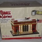 "Enesco ""Miracle On 34th Street"" Illuminated ""Post Office"" Building."