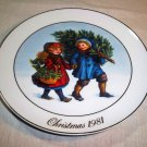"CLEARANCE!!  Avon ""Christmas Memories"" 1981 ""Sharing the Christmas Spirit"""