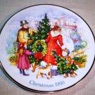 "Avon ""Brining Christmas Home"" 1990 Porcelain Plate"