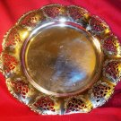 Vintage Chrome Display Dish / Tray