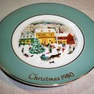 Avon Country Christmas 8th Edition Porcelain Christmas Plate