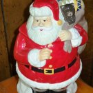 Large Ceramic Santa Cookie Jar