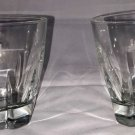 Set Of Two Jim Beam Black Libbey Duratuff Rocks Glasses