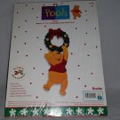 Disney Winnie the Pooh Craft Kit Christmas Door Knob Hanger Bucilla New In Bag