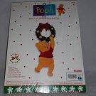 Disney Winnie the Pooh Craft Kit Christmas Door Knob Hanger Bucilla New In Bag