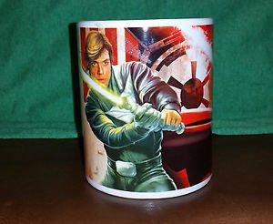 Star Wars Luke Skywalker / Darth Vader RTOJ Coffee/ Hot Coco Mug by Galerie