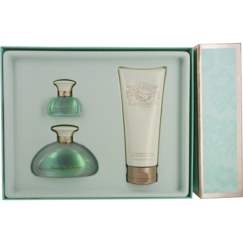 by Tommy Bahama EAU DE PARFUM SPRAY 3.4 OZ & BODY LOTION 6.7 OZ & EAU DE PARFUM SPRAY .5 OZ