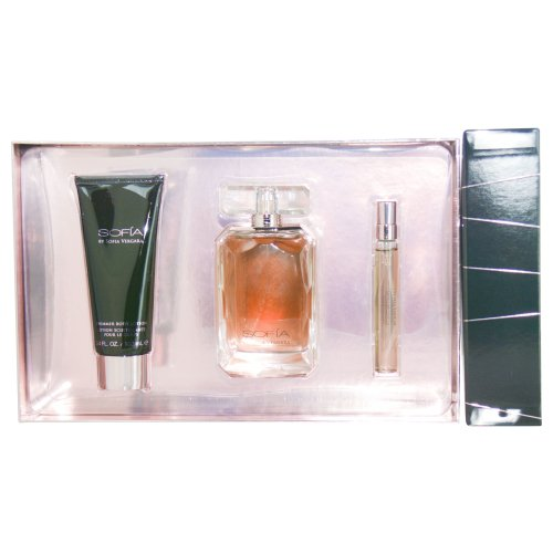 by Sofia Vergara EAU DE PARFUM SPRAY 3.4 OZ & BODY LOTION 3.4 OZ & EAU DE PARFUM SPRAY MINI .33 OZ