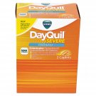 Cold & Flu Caplets, Daytime, Severe Cold & Flu, 25 Packs/box