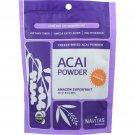 Navitas Naturals Acai Powder - Organic - Freeze-Dried - 8 oz - case of 12