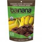 Barnana - Organic Chocolate Chewy Banana Bites ( 12 - 3.5 oz bags) Organic Choco