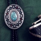 Necklace Tie Vintage Bolo Tie Necklace -Totem of Dragon Nest,Oval Punk Tie Hip Necklace t11