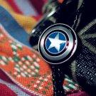 Captain America Necklace Bola Tie Vintaged Bolo Tie Totem Necklace - Cowboy Bolo Tie t03