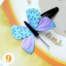 Butterfly Hair Clips Silk Butterfly Bobbypin Wedding Hairpin Butterflies Hair Accessories (1 piece)