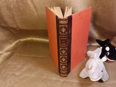 Candide by Thomas Voltaire publisher Fine Editions Press Leather Hardcover Binding 1957