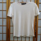 LIZ CLAIBORNE CLASSICS Sz L SILK Top Sweater Blouse