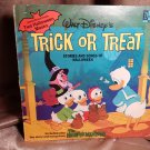 Walt Disney's TRICK or TREAT - Record Vinyl Album 33 1/2 - 1974