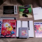 Gameboy Ms Pac Man Pacman- Namco with Box & Instructions - Super Nintendo 1993