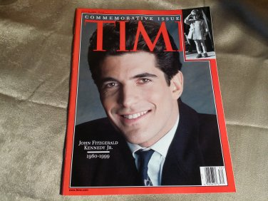 John Fitzgerald Kennedy Jr. Time July 26 1999 Commemorative Issue Magazine JFK