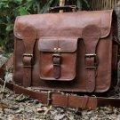 Leather Messenger Bag Brief Case Bag Genuine Leather Bag