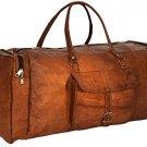 """Gusti Leder nature """"Toby"""" Genuine Leather Travel Shoulder Holdall Bag Unisex"""