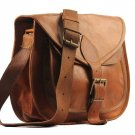 "11"" X 9"" Brown ,Genuine Leather Women's Bag /Handbag / Tote/purse/ Shopping Bag"
