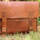 Classic Leather Messenger Satchel Laptop Leather Briefcase Bag Leather Messenger Bag